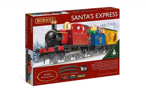 Christmas Santa Express Train Set with Tracks Decoration Accessories Gift